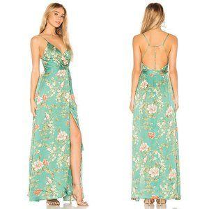 Majorelle Cubano Long Slit Maxi Dress Bellbird S
